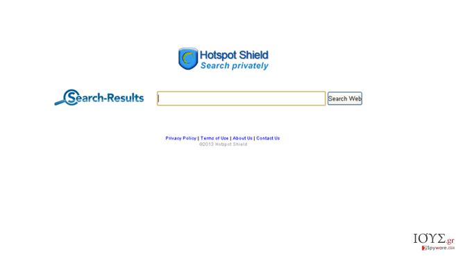 Στιγμιότυπο του Search.anchorfree.net