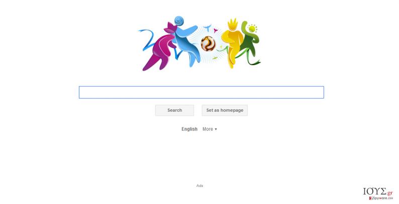 Στιγμιότυπο του Search.iminent.com virus