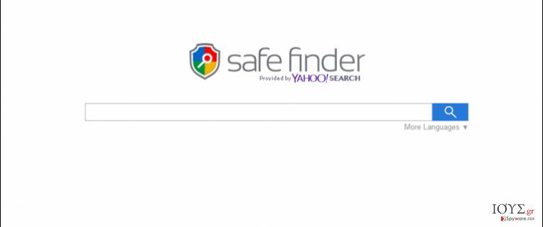 Στιγμιότυπο του Search.SafeFinder.com