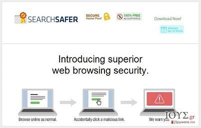 Στιγμιότυπο του Search Safer virus