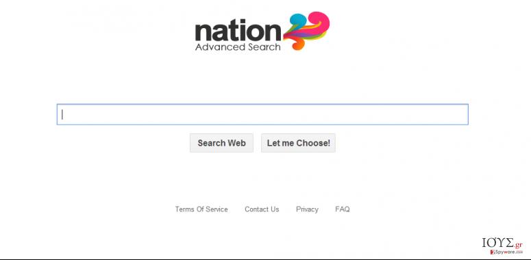 Στιγμιότυπο του Searchsafer.com ιός