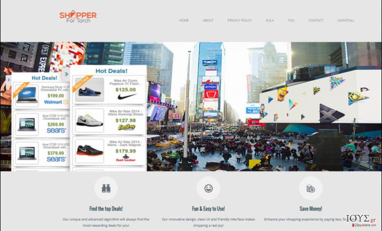 Στιγμιότυπο του Διαφημίσεις από Shopper for Torch