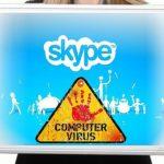 Στιγμιότυπο του Skype virus