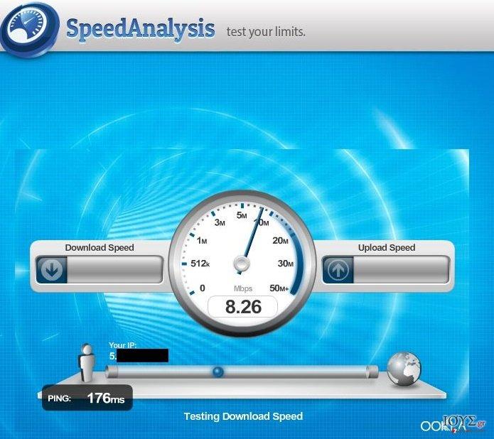 Στιγμιότυπο του Speed Analysis