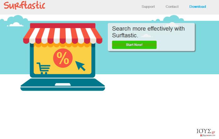 Στιγμιότυπο του Surftastic ads