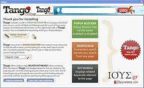 Στιγμιότυπο του Tango Toolbar
