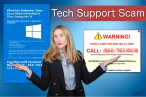 Ιός Tech Support Scam