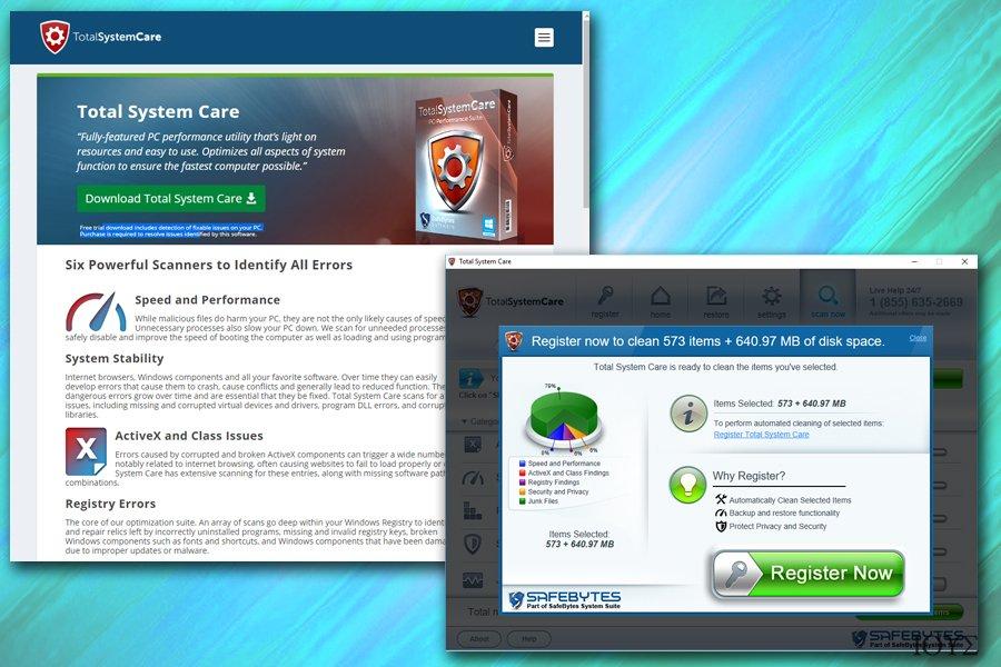 Στιγμιότυπο του Total System Care