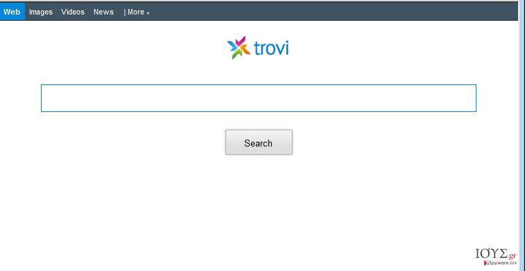 Στιγμιότυπο του Trovi.com ΑΝΑΚΑΤΕΥΘΥΝΣΕΙΣ