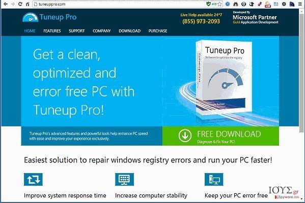 Στιγμιότυπο του TuneUp Pro