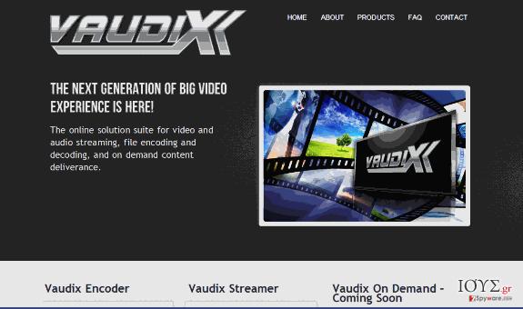 Στιγμιότυπο του Ιός Vaudix