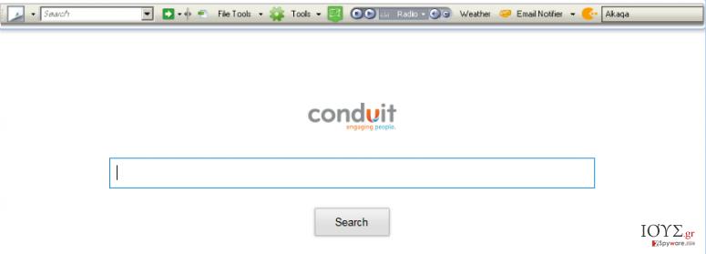 Στιγμιότυπο του Winload Toolbar