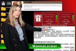 Ιός WannaLocker ransomware