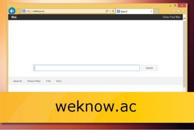 Ο weknow.ac browser hijacker