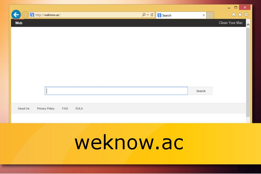 Ο weknow.ac browser hijacker