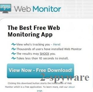 Στιγμιότυπο του Web Monitor
