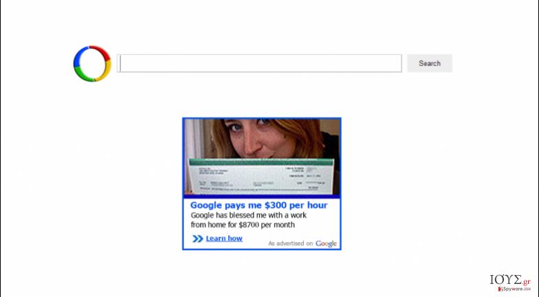 Στιγμιότυπο του Websearch.greatresults.info