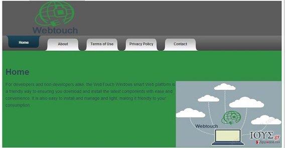 Στιγμιότυπο του Webtouch virus