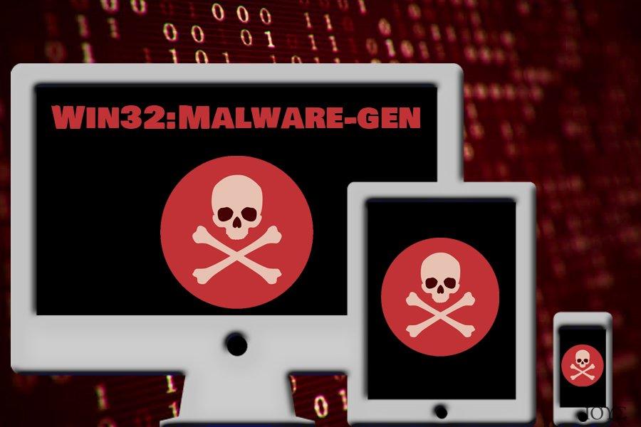 Στιγμιότυπο του Win32:Malware-gen