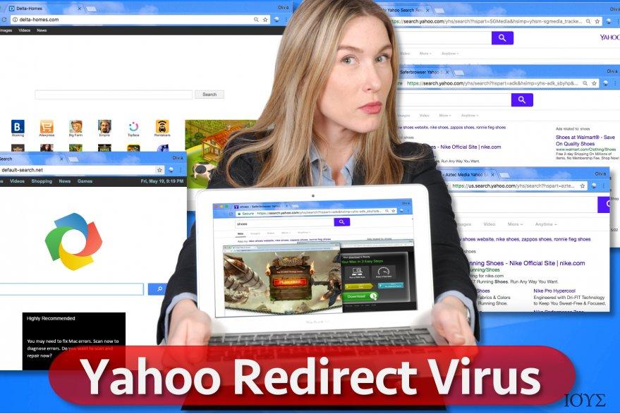 Ιός ανακατευθύνσεων Yahoo