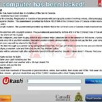 Στιγμιότυπο του Your computer has been locked