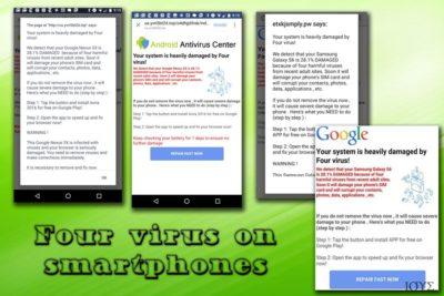 Ο ιός Four σε smartphones