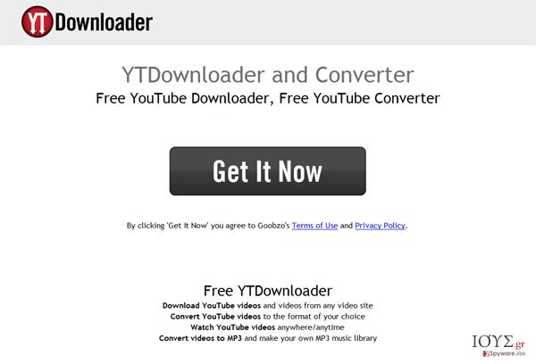 Στιγμιότυπο του YTDownloader