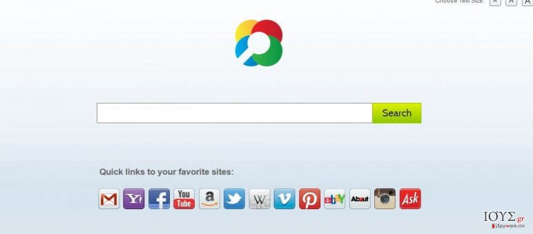 Στιγμιότυπο του Zwinky Toolbar