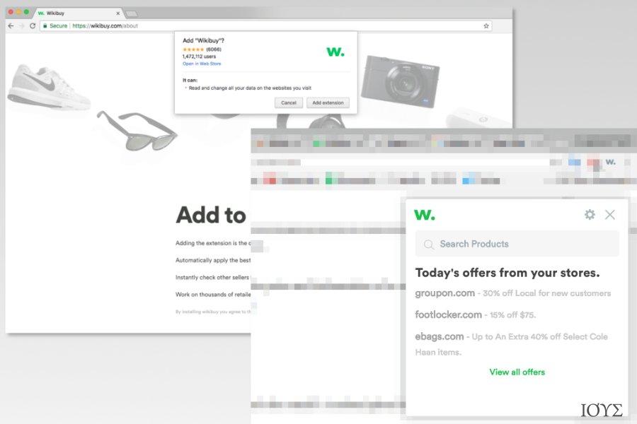 Image of Wikibuy installation