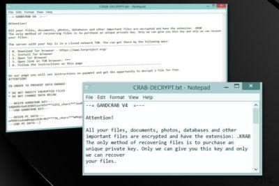 Ο ιός .crab ransomware
