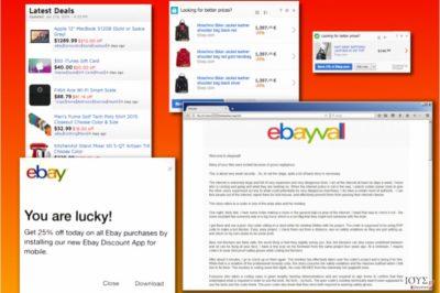 Μεταβλητές του ιού eBay