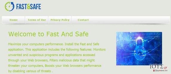 Στιγμιότυπο του Fast And Safe