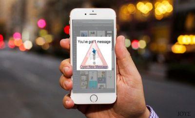 Απεικόνιση του ιού iOS