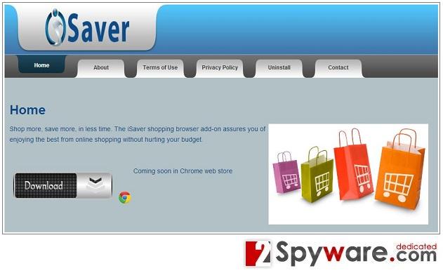 Στιγμιότυπο του iSaver