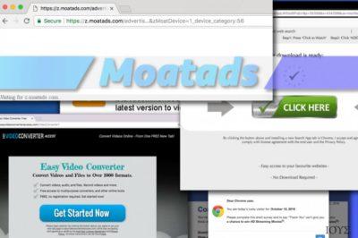 Οι διαφημίσεις Moatads είναι ιδιαιτέρως εκνευριστικές