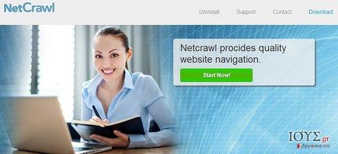 Στιγμιότυπο του Διαφημίσεις NetCrawl