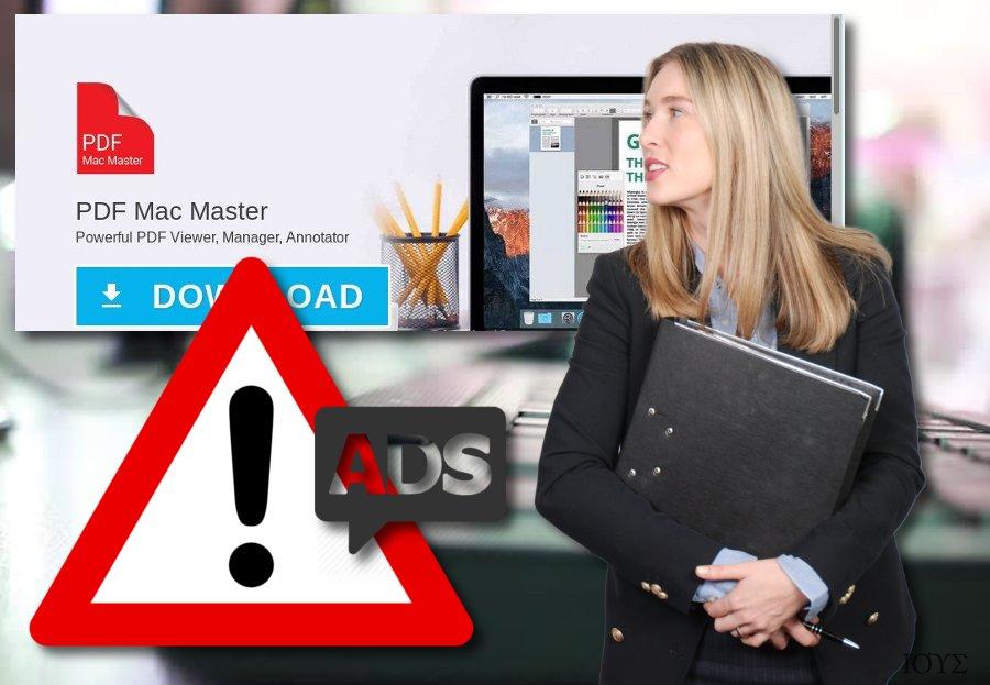 Το PDF Mac Master adware