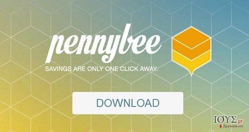 Στιγμιότυπο του PennyBee adware (λογισμικό ανεπιθύμητων διαφημίσεων)