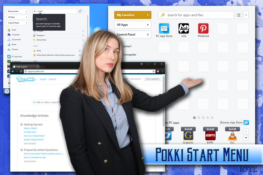 Ο ιός Pokki Start Menu