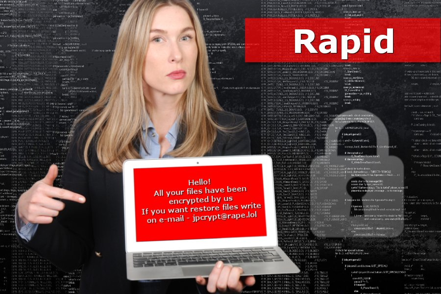 Ο ιός Rapid ransomware