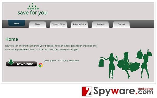 Στιγμιότυπο του SaveForYou