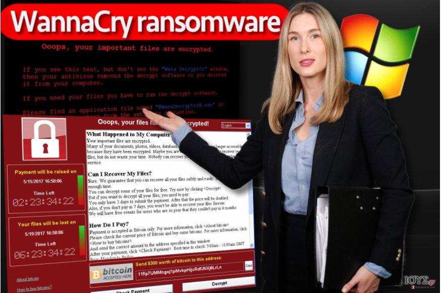 Ο ιός WannaCry ransomware