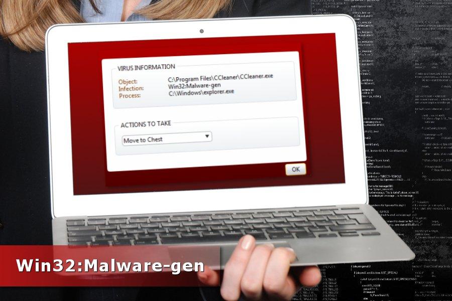 Ο εντοπισμός του Win32:Malware-gen